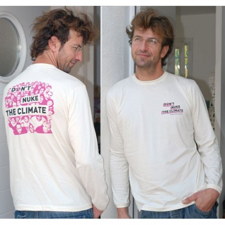 "T-Shirt ""Don't nuke the climate!"" (port compris)"