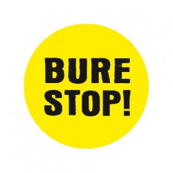 Badge BURE STOP !
