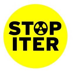 Autocollant STOP ITER