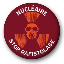 "Badge ""STOP RAFISTOLAGE"""