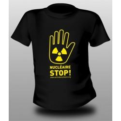"""T-shirt """"NUCLÉAIRE STOP !"""" Modèle unisexe"""