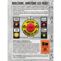 """Lot de 10 tracts """"Nucléaire, arrêtons les frais !"""""""