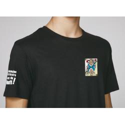 """T-shirt """"La dissuasion nucléaire, c'est du bluff"""" Modèle homme"""