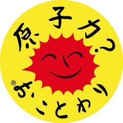 """Autocollant """"Nucléaire ? Non merci"""" en japonais"""