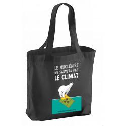 """Sac """"Le nucléaire ne sauvera pas le climat"""""""