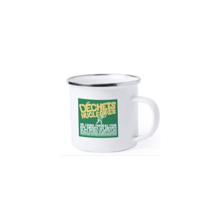 "Mug vintage émaillé ""Générations futures"""