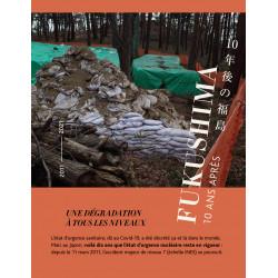 """Lot de 10 dépliants """"Fukushima, 10 ans après"""""""