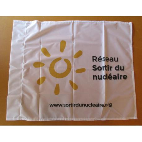 Drapeau du Réseau blanc 87 x 70 cm