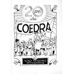 20 ans de COEDRA en 100 dessins de François Soutif