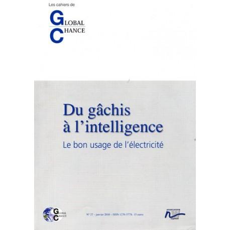 """Les cahiers de Global Chance  """"Du gâchis à l'intelligence """""""