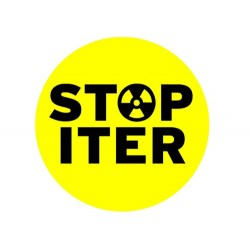 Badge STOP ITER