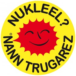 "Autocollant ""nukleel ? nann trugarez"""
