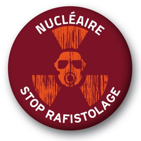"Badge ""STOP RAFISTOLAGE"""