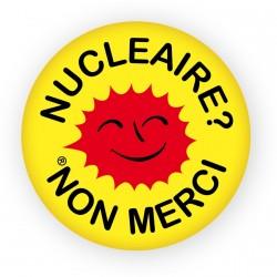 "Badge ""Nucléaire? Non merci"""