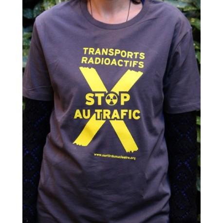 """T-shirt """"STOP AU TRAFIC"""" Modèle unisexe"""