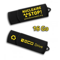 """Clé USB """"Nucléaire STOP !"""" 16 Go"""
