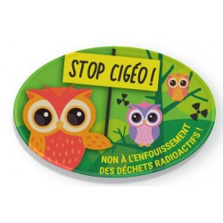 "Badge ""Stop CIGÉO !"""