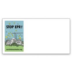 """Lot de 40 Enveloppes illustrées """"Stop EPR !"""""""