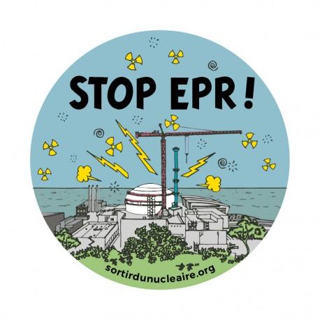 """Autocollant """"Stop EPR !"""""""