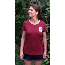"""T-shirt """"La dissuasion nucléaire, c'est du bluff"""" Modèle femme"""