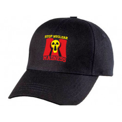 "Casquette ""Stop Nuclear Madness"""