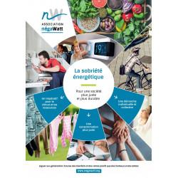 Brochure La sobriété énergétique - Pour une société plus juste et plus durable