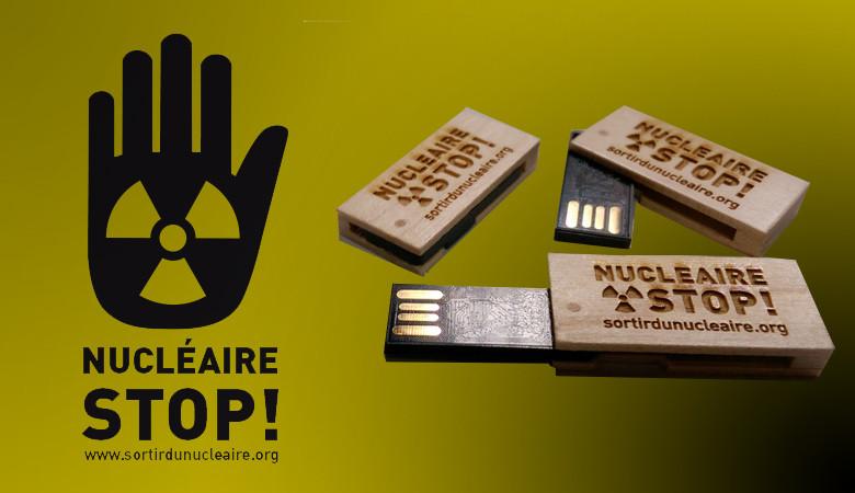 Clé USB : Nucléaire STOP !