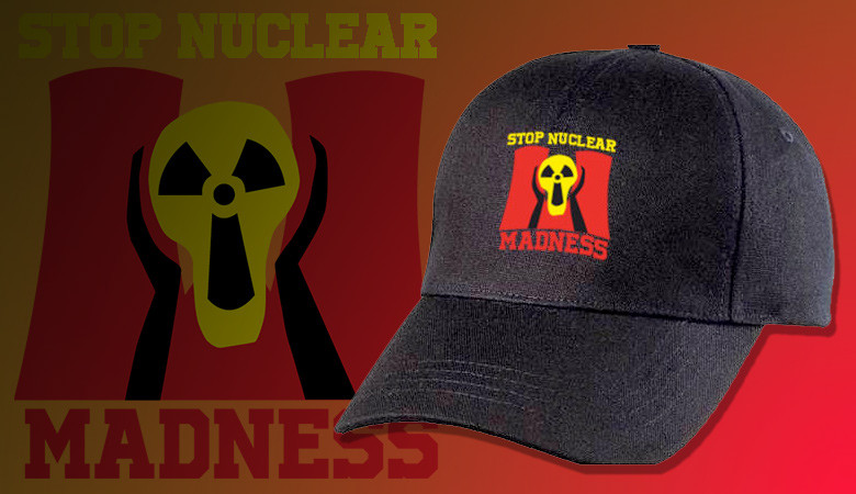 CASQUETTE STOP NUCLEAR MADNESS